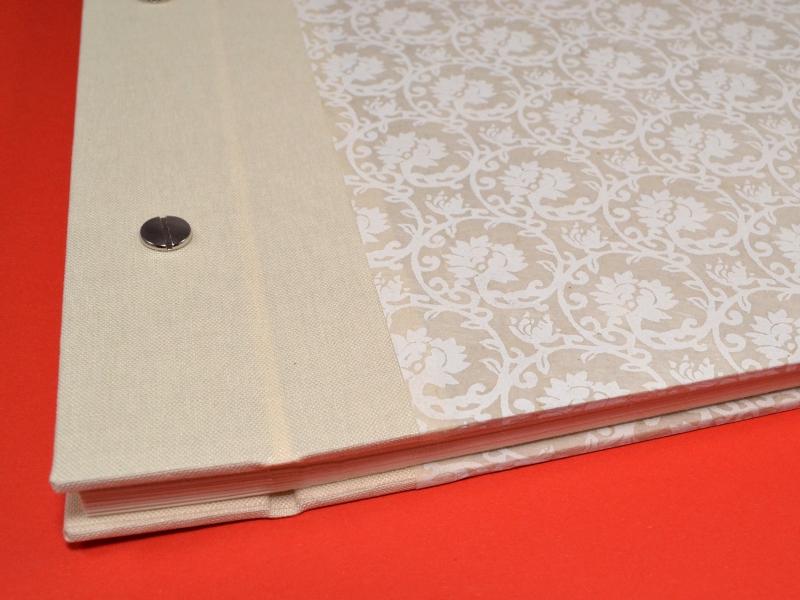 Kleinesbild - Fotoalbum Gästebuch DIN A4 Ornamente