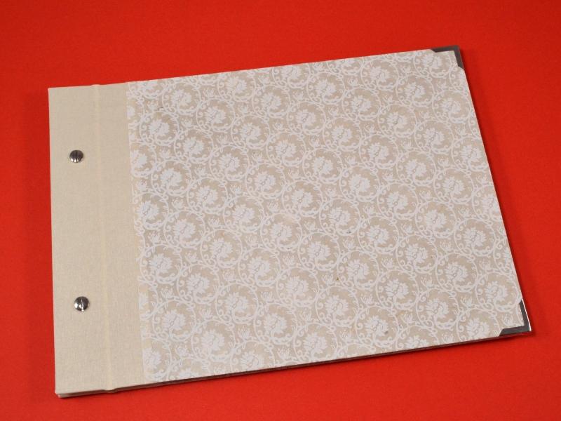 - Fotoalbum Gästebuch DIN A4 Ornamente - Fotoalbum Gästebuch DIN A4 Ornamente