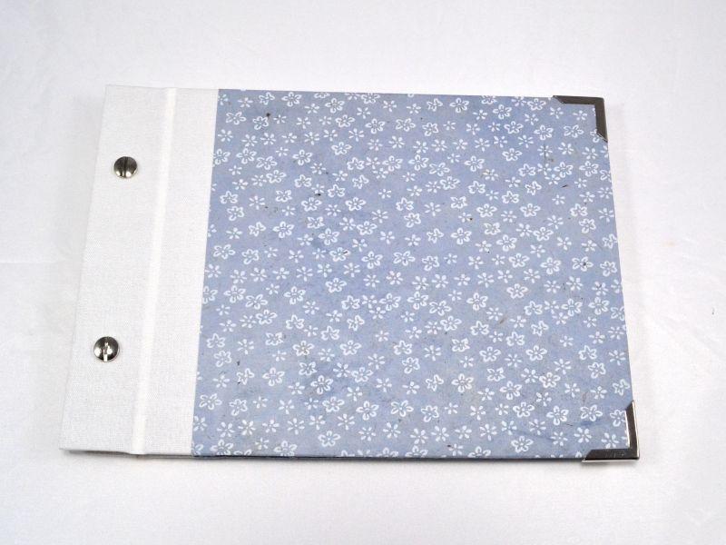 - Fotoalbum Gästebuch DIN A5 Blumen  - Fotoalbum Gästebuch DIN A5 Blumen
