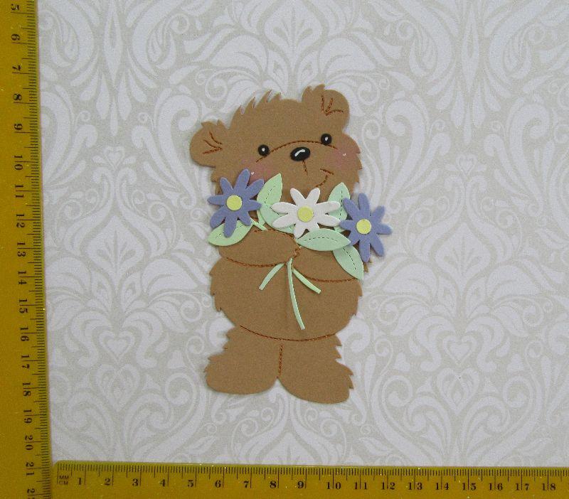 -   Stanzteil  Kartendeko  Kartenschmuck Scrapbooking Kindergeburtstag Teddy Geburtstag -   Stanzteil  Kartendeko  Kartenschmuck Scrapbooking Kindergeburtstag Teddy Geburtstag