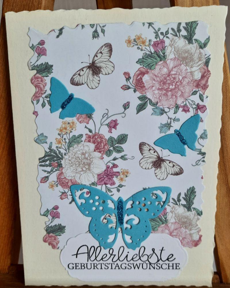 - Schmetterlinge überbringen Geburtstagsgrüße - Schmetterlinge überbringen Geburtstagsgrüße