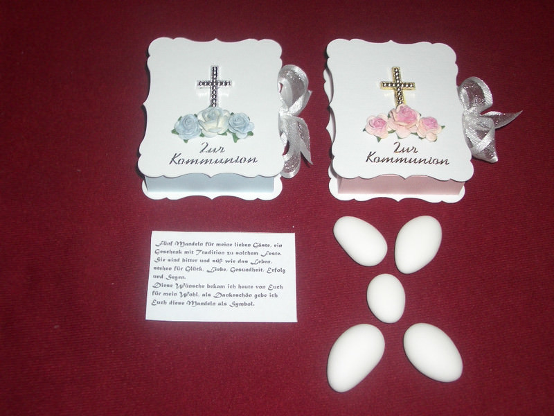 - Gastgeschenke Kommunion Bibel Kartonagen Bibelbox MIT HOCHZEITSMANDELN - Gastgeschenke Kommunion Bibel Kartonagen Bibelbox MIT HOCHZEITSMANDELN