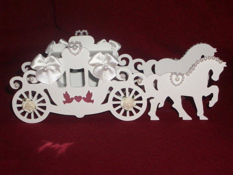 - Gastgeschenke Kutsche Hochzeitskutsche Kartonagen Bonbonieren - Gastgeschenke Kutsche Hochzeitskutsche Kartonagen Bonbonieren