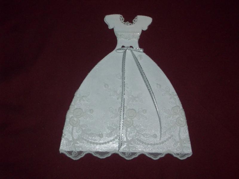Kleinesbild - Einladungskarten Hochzeit Hochzeitskleid Einladungen Brautkleid