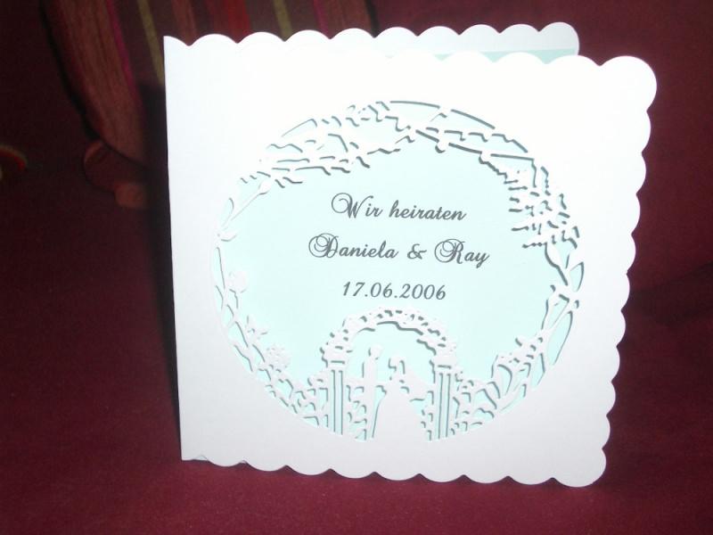 Kleinesbild - Einladungskarten Hochzeit Einladungen Hochzeitseinladungen