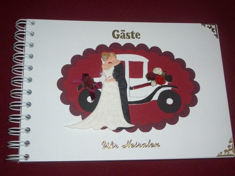 Kleinesbild - Gästebuch Hochzeit Gästealbum Fotobuch Fotoalbum Hochzeitsgästebuch