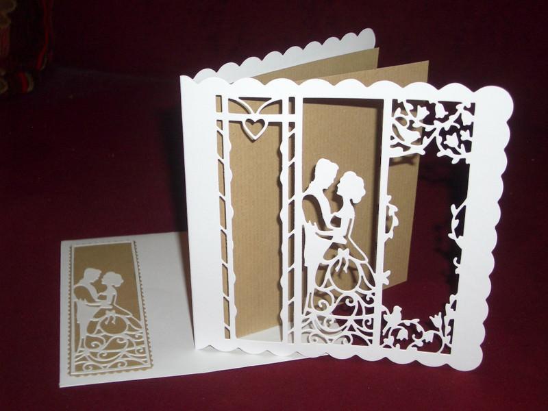 Kleinesbild - Einladungskarten Hochzeit Einladungen Vintage Boho