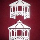Kleinesbild - Stanzteile Hochzeit Pavillion Hochzeitspavillion  Kartenschmuck Kartendeko