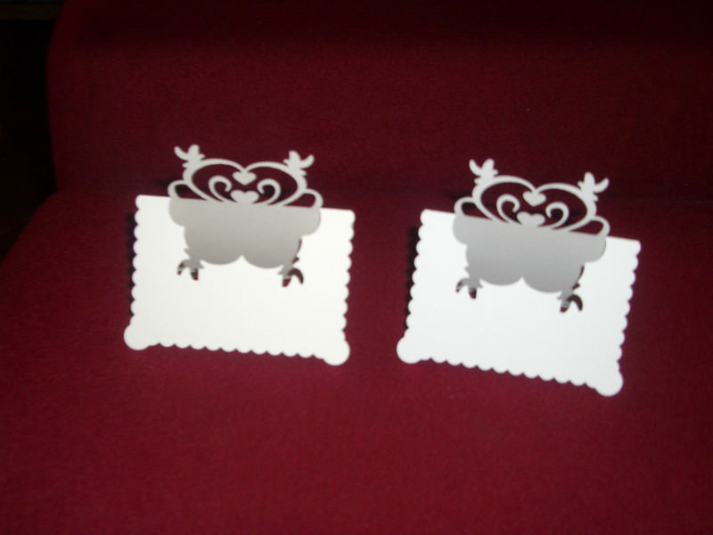 Kleinesbild - Tischkarten Platzkarten Tischkarte Platzkarte Hochzeit Kommunion Konfirmation Taufe