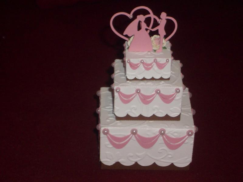 Anlasse Gastgeschenke Kartonagen Hochzeit Hochzeitstorte Torte