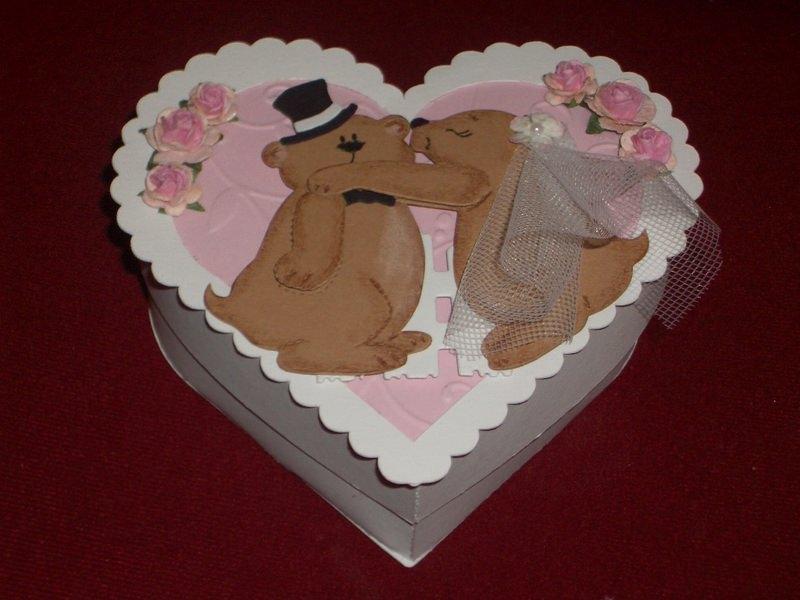 Kleinesbild - Gastgeschenke Gastgeschenke Gästegeschenk Hochzeit Herz Bonboniere Hochzeitsmandeln