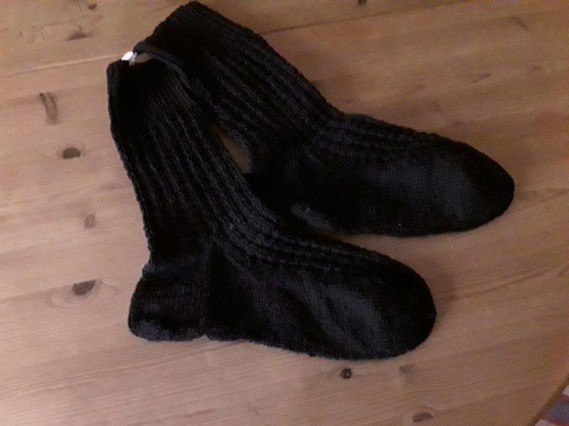 - schwarze Socken in Übergröße Gr.46/47 - schwarze Socken in Übergröße Gr.46/47