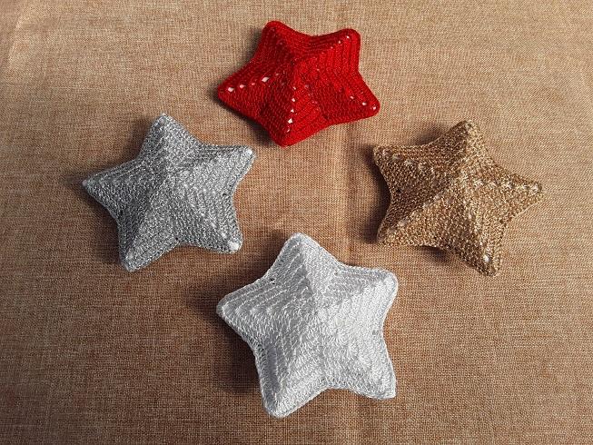Kleinesbild - Weihnachtsterne in verschiedenen Farben  (klein)