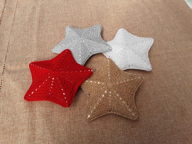 Kleinesbild - Weihnachtsterne in verschiedenen Farben (groß)