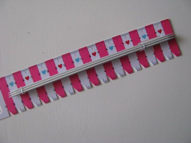 - Nadelspiel aus Alluminium - 2,5 mm - 20 cm lang - Nadelspiel aus Alluminium - 2,5 mm - 20 cm lang