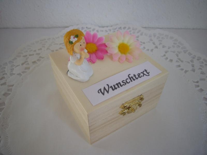 Kleinesbild - Geldgeschenke Kommunion Konfirmation Firmung Mädchen Geld schenken Geschenk Individualisierbar