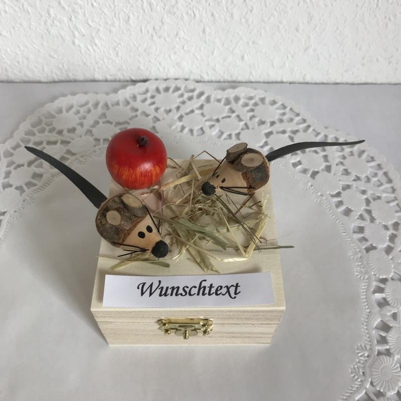 Kleinesbild - Geld Mäuse Geldgeschenk Geburtstag Kommunion Firmung Konfirmation Jugendweihe Junge Mädchen Geld verschenken