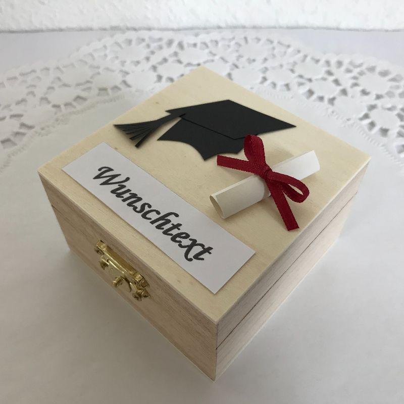 Kleinesbild - Personalisiertes Geldgeschenk Promotion Doktor-Titel Abschluss Studium Examen Geld Gutschein verschenken bestandene Prüfungen
