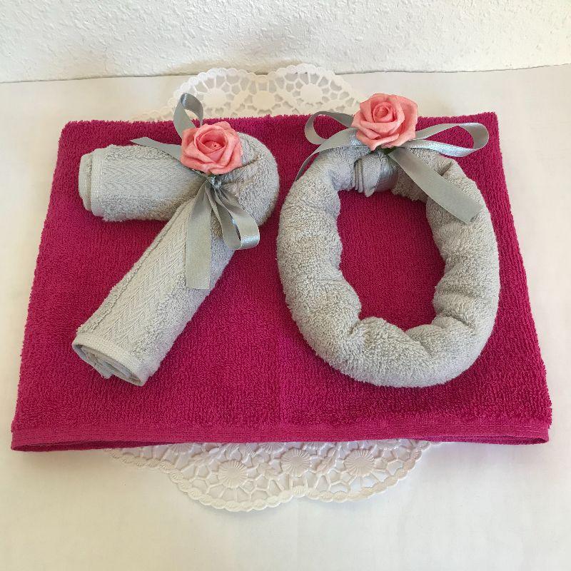 Kleinesbild - Geschenk 70. Geburtstag Geldgeschenk Geburtstagsgeschenk rund Jubiläum Geschenkidee Jahreszahl Vater Mutter Oma Opa Nachbar