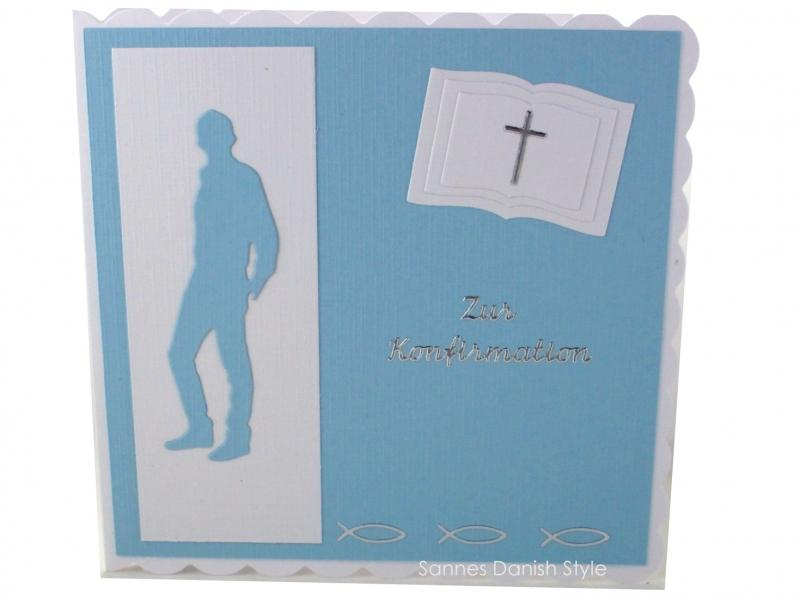 - Konfirmationskarte, Glückwunschkarte zur Konfirmation, Konfirmationskarte für Jungen, die Karte ist ca. 15 x 15 cm - Konfirmationskarte, Glückwunschkarte zur Konfirmation, Konfirmationskarte für Jungen, die Karte ist ca. 15 x 15 cm