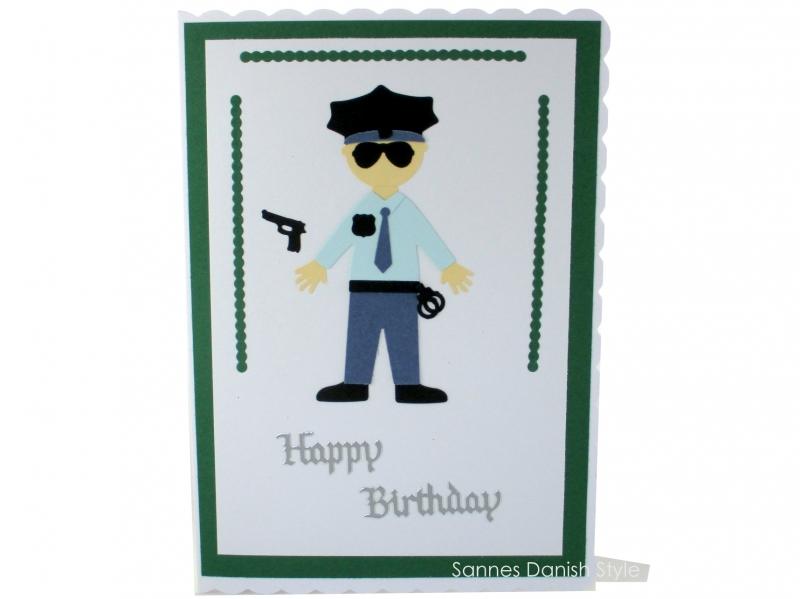 - XL Grußkarte Polizist, Geburtstagskarte, Uniform, Glückwunschkarte,, DIN A5 Format - XL Grußkarte Polizist, Geburtstagskarte, Uniform, Glückwunschkarte,, DIN A5 Format