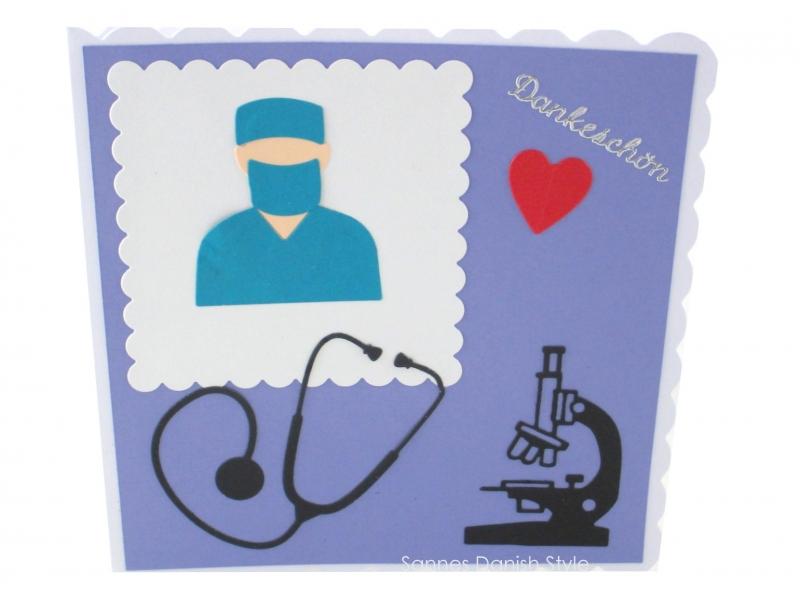 - Pfleger, Krankenschwester und Ärzte, eine Dankekarte für die Helfer, Dankeschön, die Karte ist ca. 15 x 15 cm - Pfleger, Krankenschwester und Ärzte, eine Dankekarte für die Helfer, Dankeschön, die Karte ist ca. 15 x 15 cm