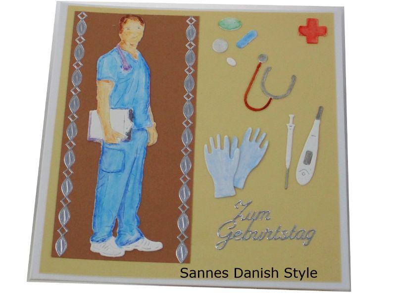 - Geburtstagskarte Arzt, Ärzte, Grußkarte, Glückwunschkarte, Arzt, Mediziner, Pflegekraft, Aquarellkarte, Geburtstagskarte für Medizinbereich, die Karte ist  13,5 x 13,5 cm - Geburtstagskarte Arzt, Ärzte, Grußkarte, Glückwunschkarte, Arzt, Mediziner, Pflegekraft, Aquarellkarte, Geburtstagskarte für Medizinbereich, die Karte ist  13,5 x 13,5 cm