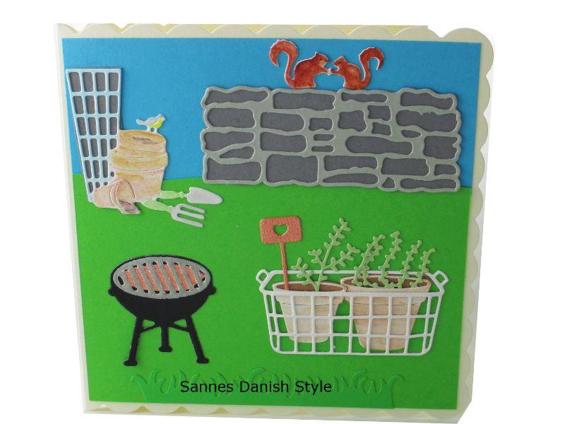- 3D Frühlingskarte, Geburtstagskarte, Grußkarte für Gartenfreunde, Blumentöpfe und Gartengeräte, Aquarellkarte, die Karte ist ca. 15 x 15 cm - 3D Frühlingskarte, Geburtstagskarte, Grußkarte für Gartenfreunde, Blumentöpfe und Gartengeräte, Aquarellkarte, die Karte ist ca. 15 x 15 cm