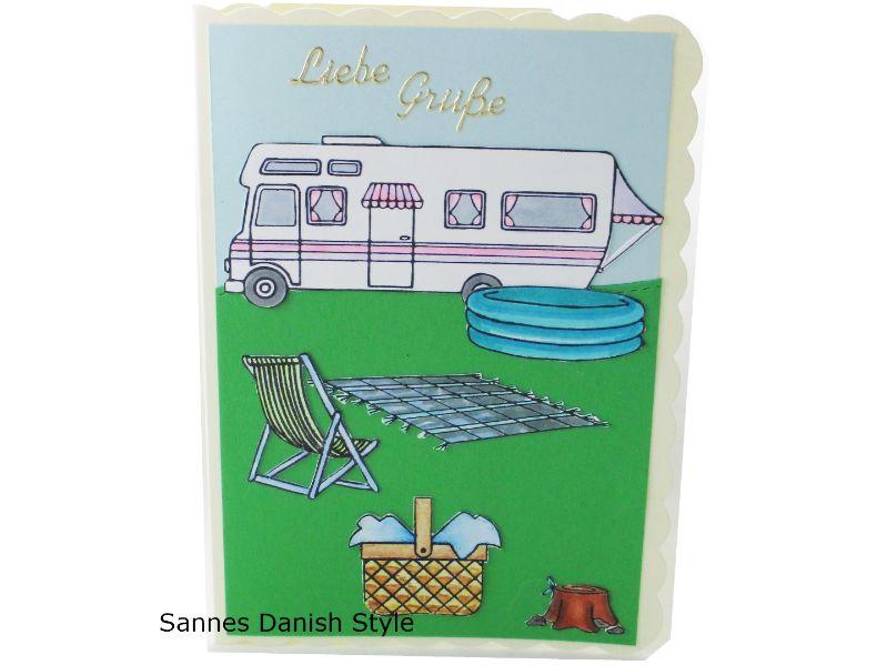 - Geburtstagskarte Camper, Campingtour mit Schwimmbecken, Grußkarte Urlaub die Karte hat DIN A6 Format - Geburtstagskarte Camper, Campingtour mit Schwimmbecken, Grußkarte Urlaub die Karte hat DIN A6 Format
