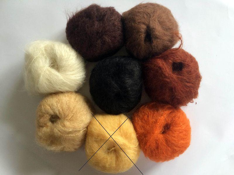 Kleinesbild - Stoffpuppe Waldorfpuppe 35cm zum selber machen diy Material Bio Wolle