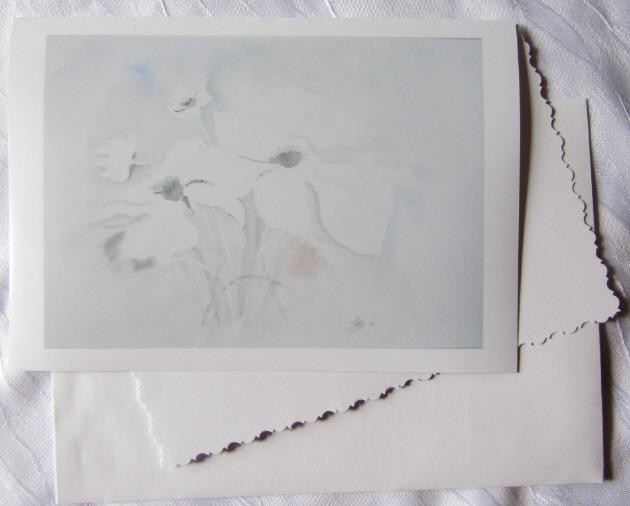 - Grußkarte Faltkarte Zarte Blüte fotografiert vom Aquarell und gedruckt auf Fotopapier kaufen - Grußkarte Faltkarte Zarte Blüte fotografiert vom Aquarell und gedruckt auf Fotopapier kaufen