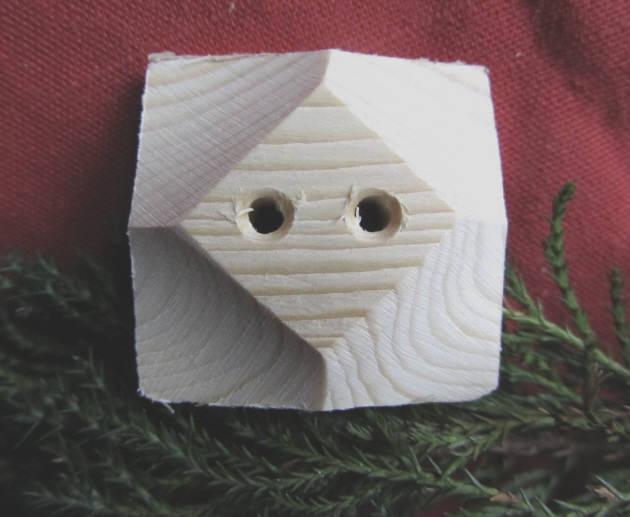 - Handgefertigter Knopf Zierknopf aus Fichtenholz in quadratischer Form unbehandelt kaufen - Handgefertigter Knopf Zierknopf aus Fichtenholz in quadratischer Form unbehandelt kaufen