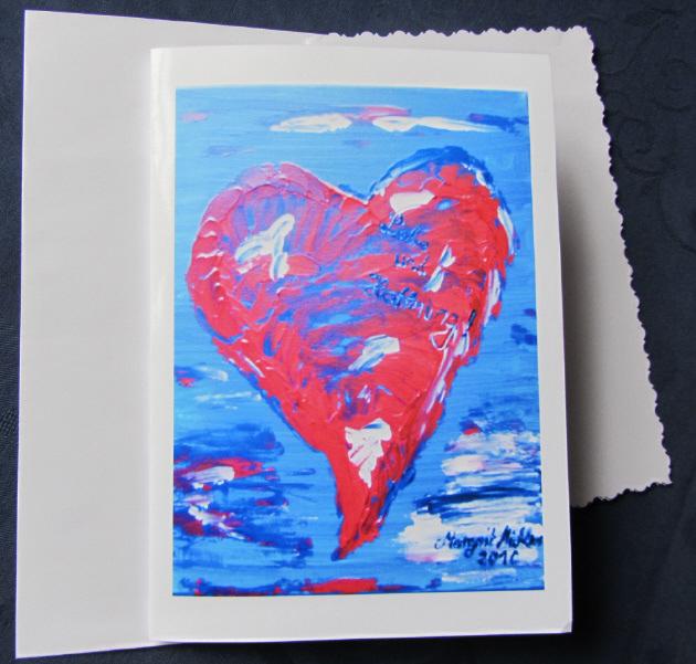 - Grußkarte Faltkarte Liebe und Hoffnung handgemalt fotografiert und gedruckt auf Fotopapier kaufen - Grußkarte Faltkarte Liebe und Hoffnung handgemalt fotografiert und gedruckt auf Fotopapier kaufen