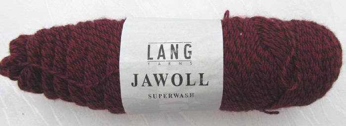 Kleinesbild - Wolle von Lang Yarns in der Farbe Dunkelrot schwarz  (Grundpreis 100 g/3,00 €) zum Häkeln und Stricken kaufen