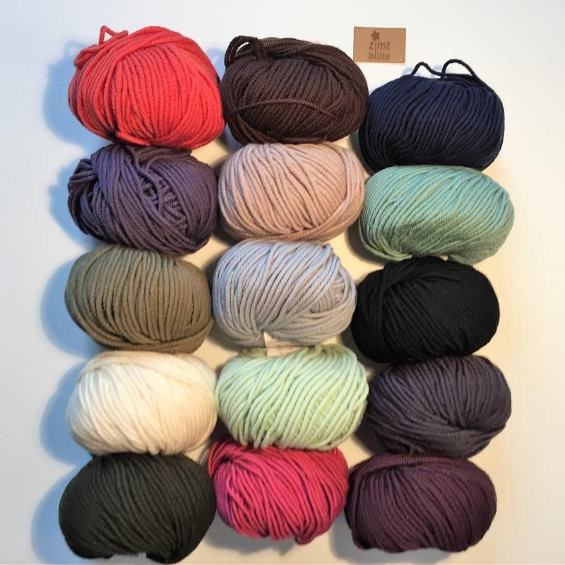 Kleinesbild -  Stirnband * EFFI merino * aus Wolle handgestrickt von zimtblüte / Farbwahl