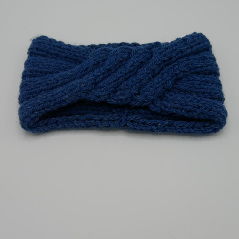 Kleinesbild - zimtblüte Stirnband  ** ISA ** handgestrickt Schurwolle Alpaka 4 Farben