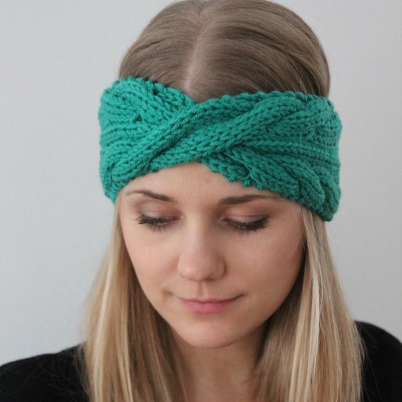 - Stirnband Modell **LAURA**  von zimtblüte 16 Farben - Stirnband Modell **LAURA**  von zimtblüte 16 Farben