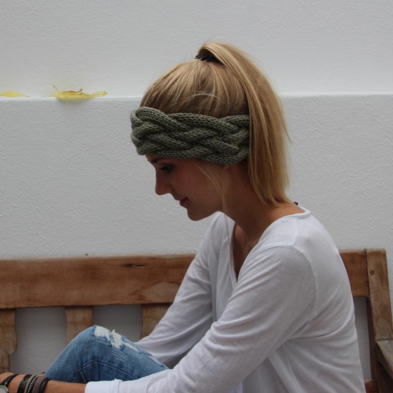 Kleinesbild - Stirnband *MINA* handmade von zimtblüte / verschiedene Farben