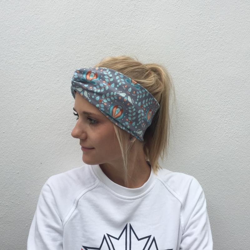 Kleinesbild - Haarband Stirnband * Paisley *  handmade von zimtbluete