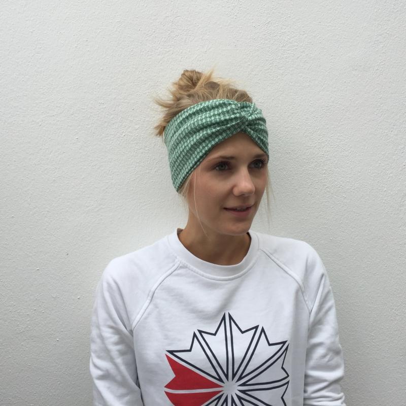 Kleinesbild -  ! SALE ! Haarband Stirnband **TWOTONE**  von zimtbluete