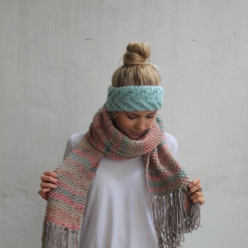 Kleinesbild - Stirnband **EFFI alpaka** Handarbeit gestrickt Wolle / Alpaka  von zimtblüte / 8 Farben