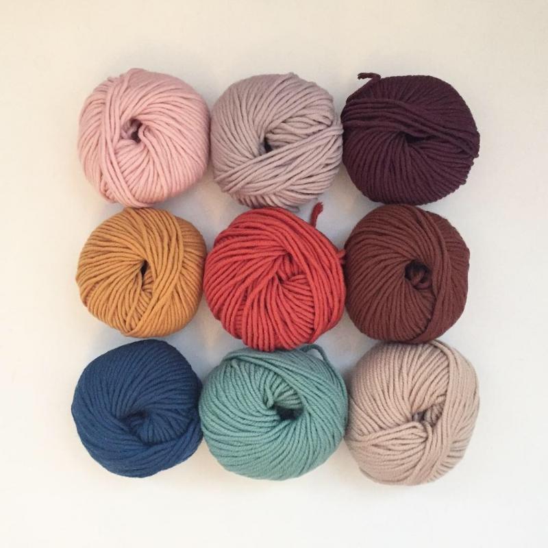 Kleinesbild -  Stirnband * SARA * aus Wolle handgestrickt von zimtblüte / Farbwahl