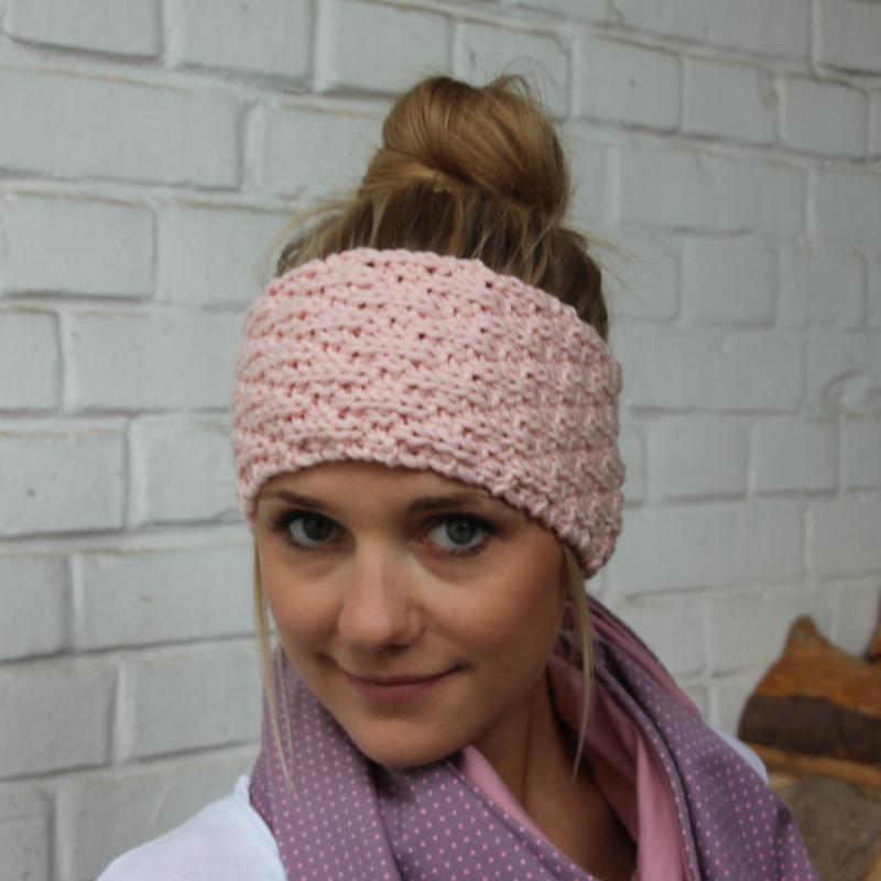 -  Stirnband * SARA * aus Wolle handgestrickt von zimtblüte / Farbwahl  -  Stirnband * SARA * aus Wolle handgestrickt von zimtblüte / Farbwahl
