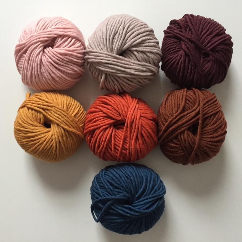 Kleinesbild - Stirnband * BILLIE *  handgestrickt aus Wolle von zimtblüte in 7 aktuellen Farben