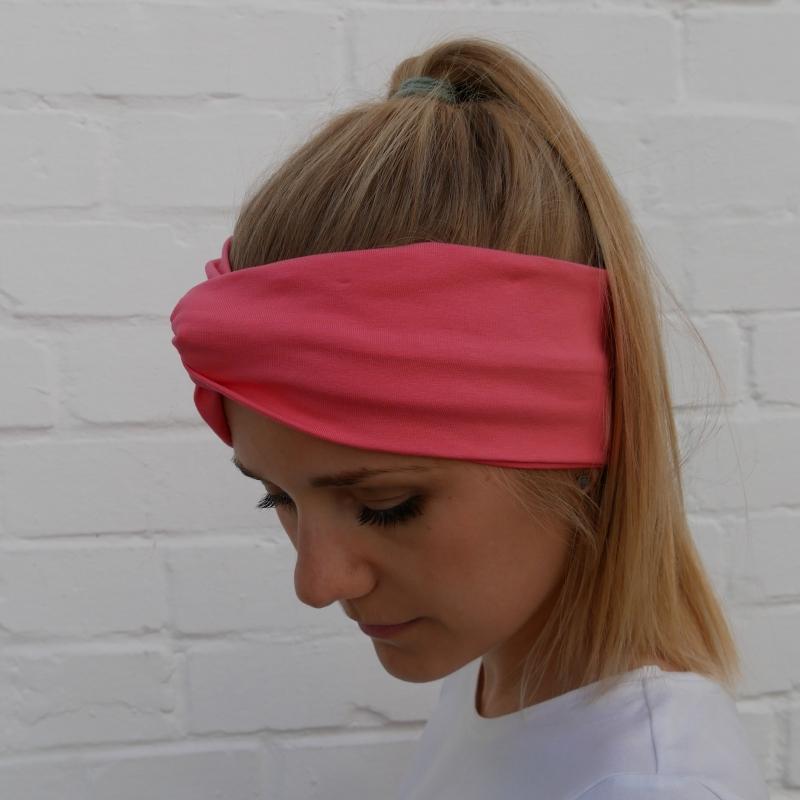 Kleinesbild - Turban Stirnband SORBET vier Farben von zimtblüte handmade Turbanstyle selbstgenäht