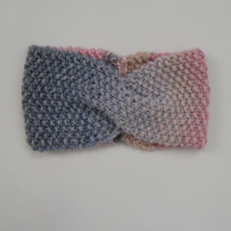 Kleinesbild - !SALE! Stirnband * MARIE *  Farbverlaufsgarn handgestrickt von zimtblüte