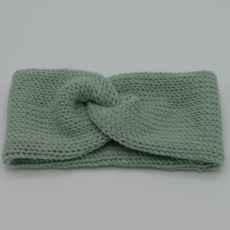 - Stirnband CARO double Wolle von zimtblüte handgestrickt  in 4 Farben - Stirnband CARO double Wolle von zimtblüte handgestrickt  in 4 Farben