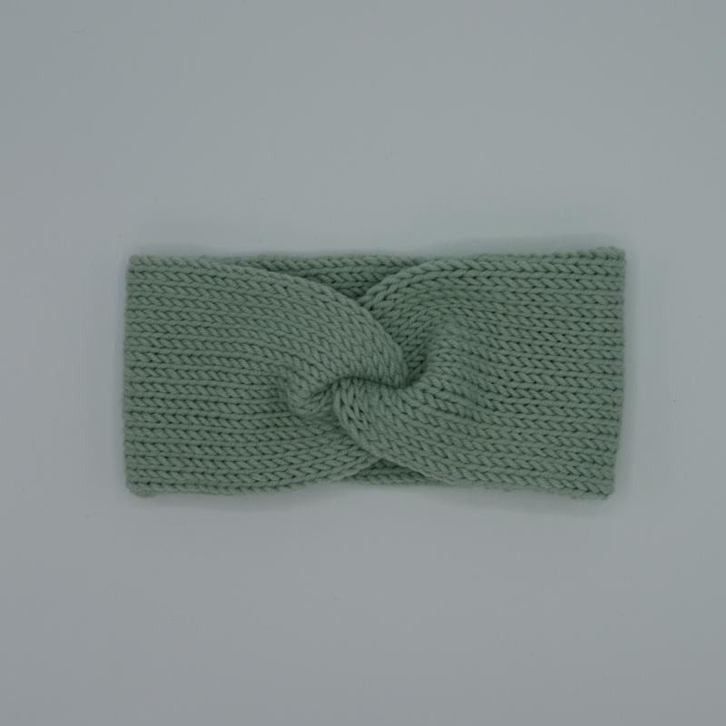 Kleinesbild - Stirnband CARO double Wolle von zimtblüte handgestrickt  in 4 Farben