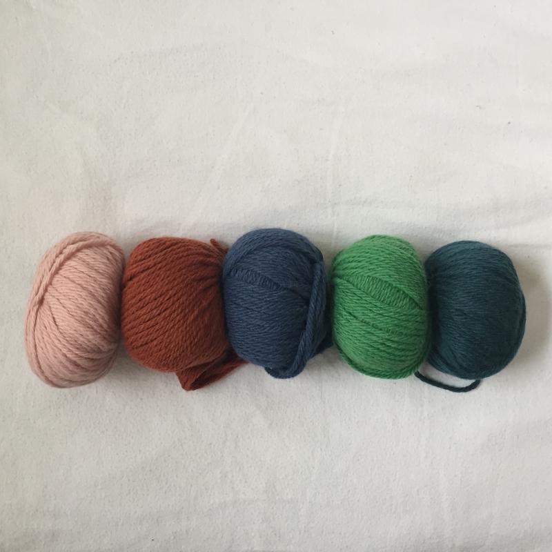 Kleinesbild - Stirnband * BILLIE *  handgestrickt aus Wolle von zimtblüte in aktuellen Farben