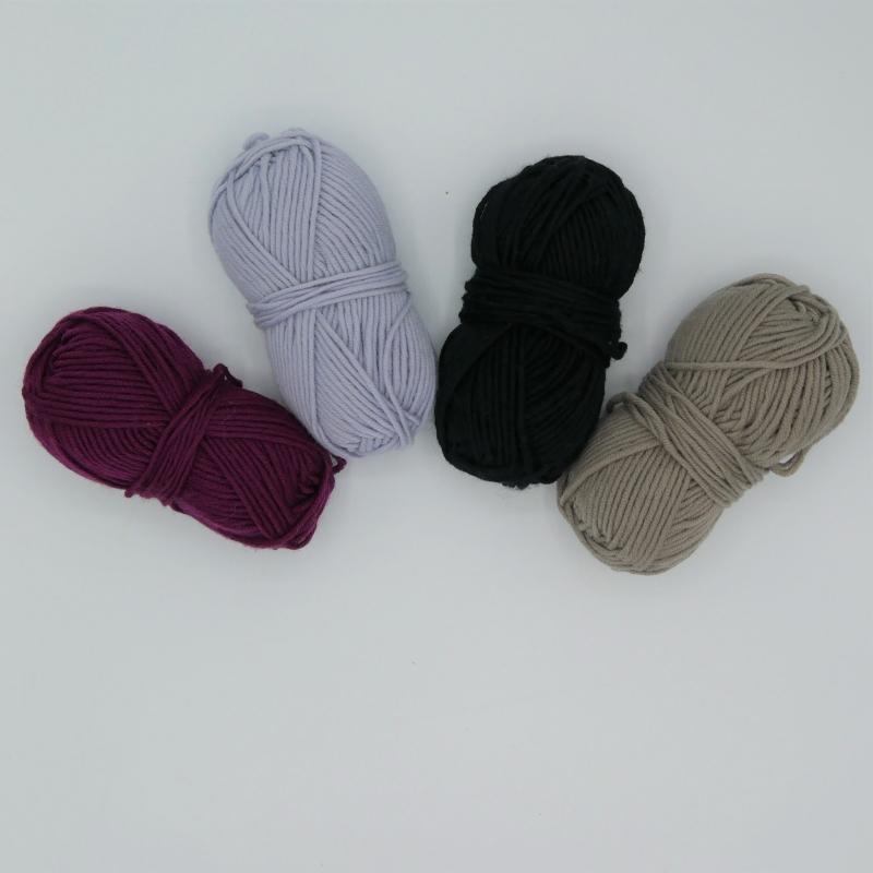 Kleinesbild - Fingerlose Handschuhe ELIN Stulpen aus Wolle handgestrickt von zimtblüte